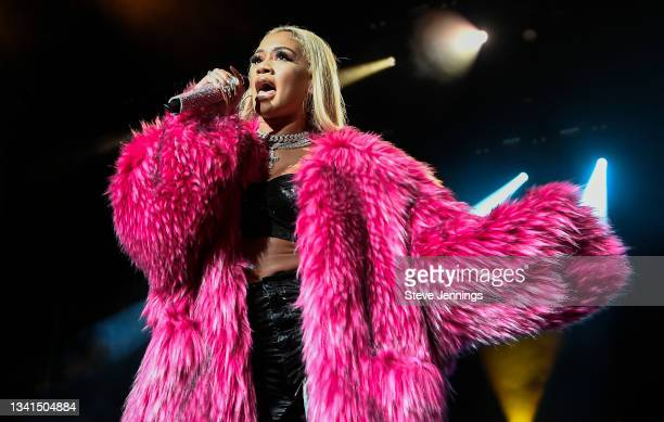 Saweetie performs on Day 2 of the 2021 Lights Up Music Festival at Concord Pavilion on September 19, 2021 in Concord, California.