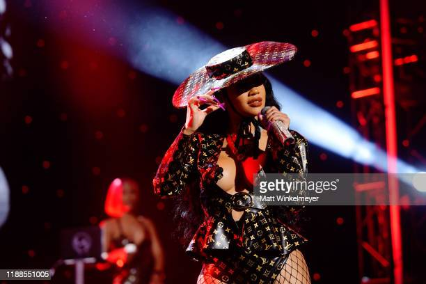 Saweetie performs onstage during the 2nd Annual American Influencer Awards at Dolby Theatre on November 18 2019 in Hollywood California