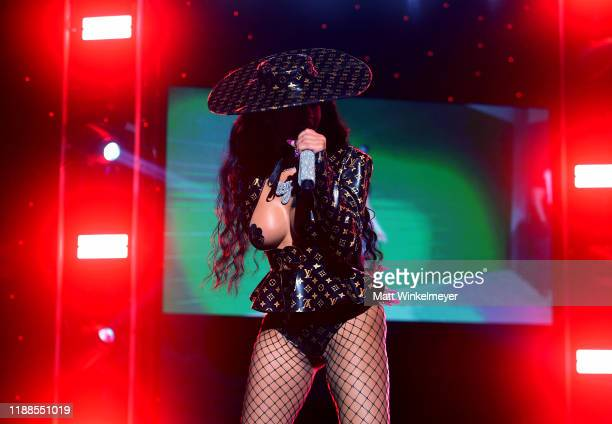 Saweetie performs onstage during the 2nd Annual American Influencer Awards at Dolby Theatre on November 18, 2019 in Hollywood, California.