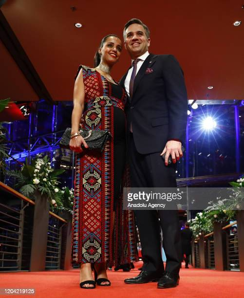 Sawsan Chebli attends the award ceremony of 70th Berlinale International Film Festival in Berlin Germany on February 29 2020