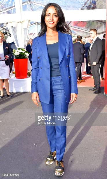 Sawsan Chebli during the LV Lower Saxony Summer Party on June 25 2018 in Berlin Germany