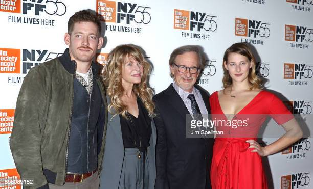 Sawyer Avery Spielberg actress Kate Capshaw director Steven Spielberg and Destry Allyn Spielberg attend the 55th New York Film Festival Spielberg...