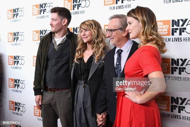 Sawyer Avery Spielberg Kate Capshaw Steven Spielberg and Destry Allyn Spielberg attend the screening of Spielberg during the 55th New York Film...