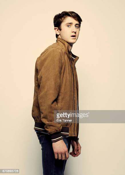 Sawyer Barth from 'Super Dark Times' attends the 2017 Tribeca Film Festival portrait studio on April 20 2017 in New York City