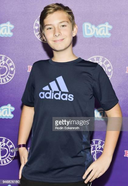 Sawyer Sharbino attends Hayden Summerall's 13th Birthday Bash at Bardot on April 15 2018 in Hollywood California