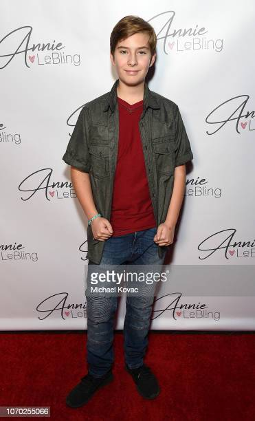 Sawyer Sharbino attends the Annie LeBling presents Annie LeBlanc Performance Pop Up Shop on December 8 2018 in Los Angeles California