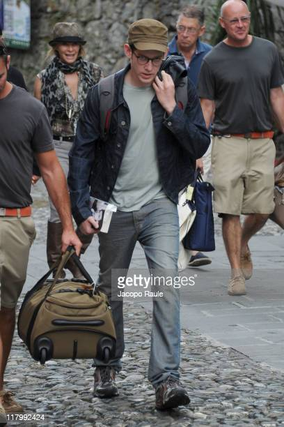 Sawyer Spielberg is seen on July 2 2011 in Portofino Italy