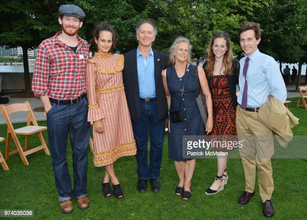 Sawyer Spielberg Raye Levine Joe Levine Jane Cyphers Emma Levine and Nicholas Tapert attend the Franklin D Roosevelt Four Freedoms Park's gala...
