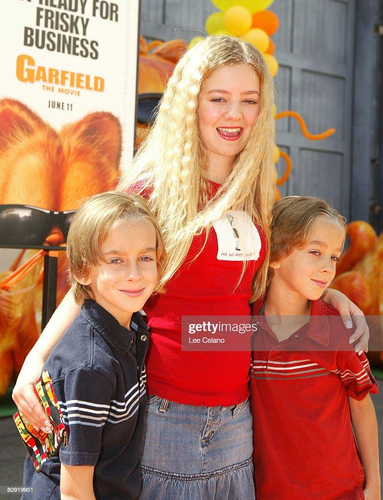 """""""Garfield: The Movie"""" World Premiere - Orange Carpet : News Photo"""