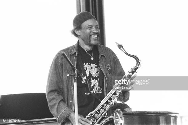 Saxaphonist Charles Neville in New Orleans, in 1996