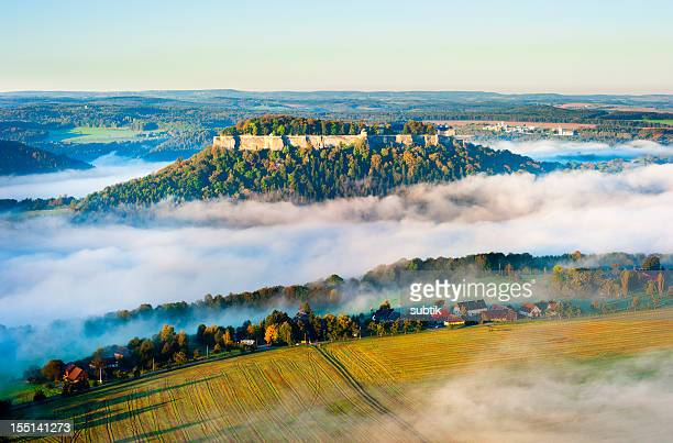 saxon switzerland - saxony stock pictures, royalty-free photos & images