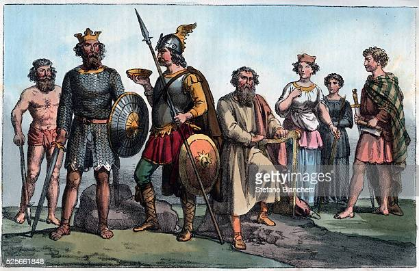 the anglo saxons Michael delahoyde washington state university anglo-saxon culture  history: when rome was weakening early in the fifth century ce, troops in the.