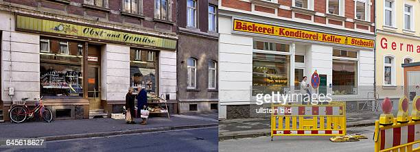 left vegetable shop at Schillerstrasse 1990 picture 1009199473right same place with a bakery at Schillerstrasse 2015 picture 1009198667