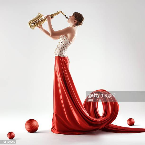 Saxophone beauty