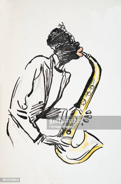Saxophone Player from 'White Bottoms' pub 1927