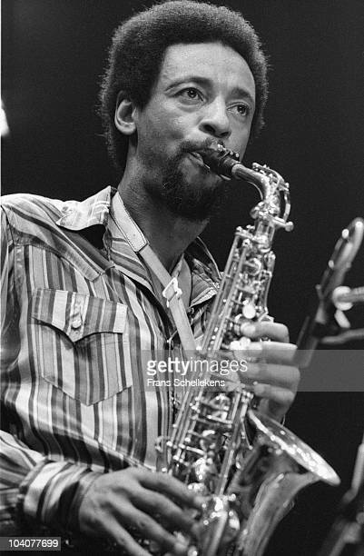 Saxophone player Henry Treadgill performs on stage at Meervaart on September 27 1985 in Amsterdam Netherlands
