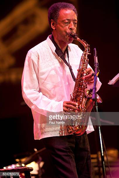 Saxophonist and flautist Henry Threadgill performs at the Petrillo Bandshell in Grant Park Chicago Illinois September 5 2010