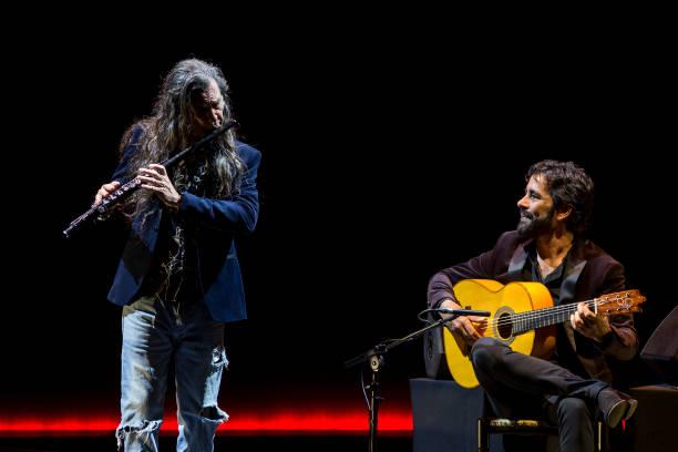 ESP: Daniel Casares And Jorge Pardo Concert In Malaga