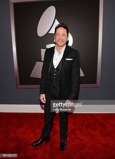 Saxophonist Dave Kos attends the 55th Annual GRAMMY Awards at STAPLES Center on February 10 2013 in Los Angeles California