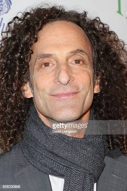 Saxophonist Kenny G arrives at the 85th Annual Hollywood Christmas Parade on November 27 2016 in Hollywood California