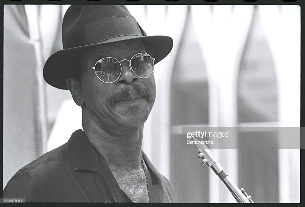 Saxophonist Ornette Coleman is photographed in 1985 in New York City.