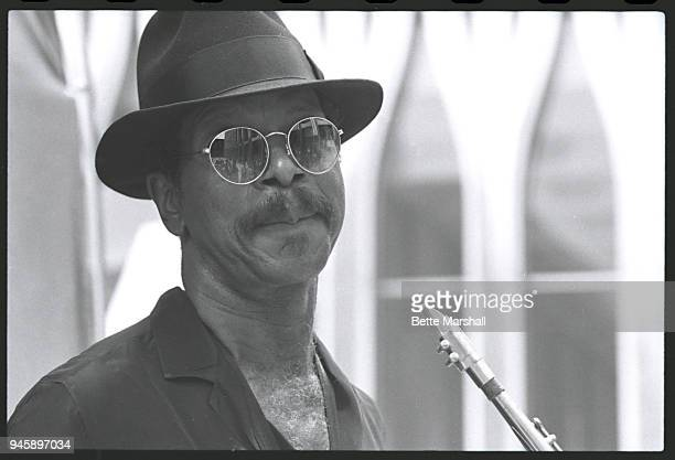 Saxophonist Ornette Coleman is photographed in 1985 in New York City