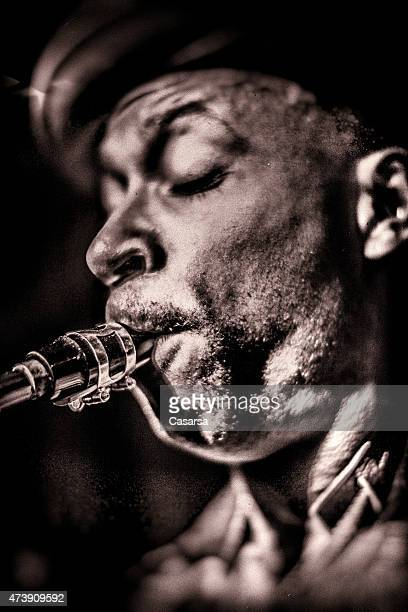 saxophonist - jazz stock pictures, royalty-free photos & images