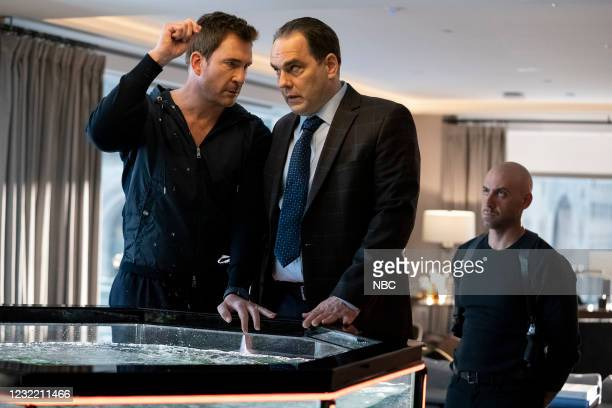 "Say Hello To My Little Friend"" Episode 103 -- Pictured: Dylan McDermott as Richard Wheatley, Karl Bury as Danny Lizer, Ibrahim Renno as Izak Bekher --"