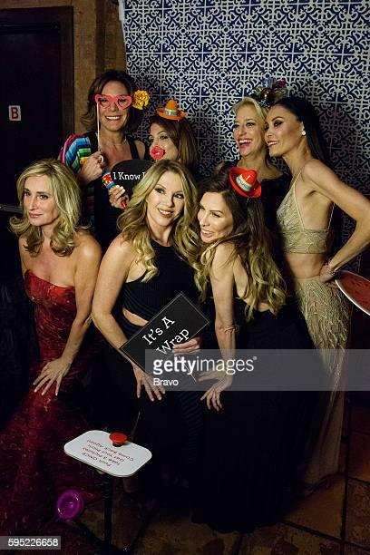 "Say It Ain't So"" Episode 820 -- Pictured: Sonja Morgan, Luann de Lesseps, Bethenny Frankel, Ramona Singer, Carole Radziwill, Dorinda Medley, Julianne..."