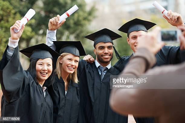 「私は卒業し!」