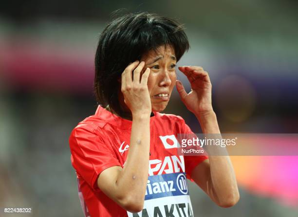 Sayaka Makita of Japen compete Women's 1500m T20 Final during World Para Athletics Championships Day Three at London Stadium in London on July 17 2017