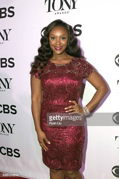 Saycon Sengbloh attends the 2016 Tony Honors cocktail party at The Diamond Horseshoe on June 6 2016 in New York City