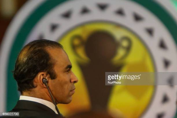 Sayed Abdel Hafez Director of Football at Al Ahly Club during The draw of the group stage of Total CAF Champions League and 2nd 1/16th round of the...