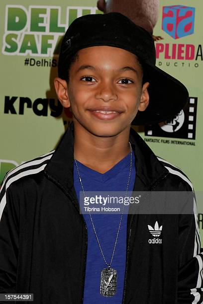 Sayeed Shahidi attends the Delhi Safari Los Angeles premiere at Pacific Theatre at The Grove on December 3 2012 in Los Angeles California