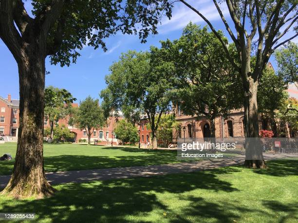 Sayles Hall and Campus, Brown University, Providence, Rhode Island, USA.
