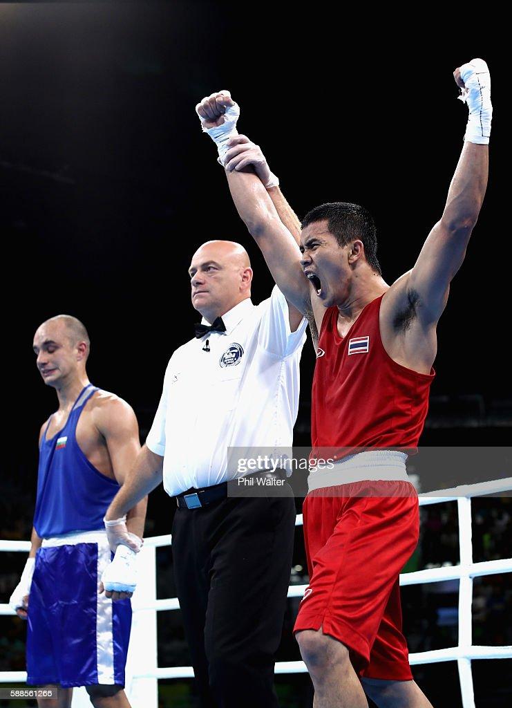Boxing - Olympics: Day 6 : Nachrichtenfoto