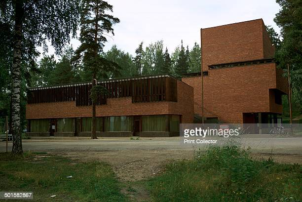 Saynatsalo Town Hall influenced by both Finnish vernacular culture and the Italian Renaissance 1940s