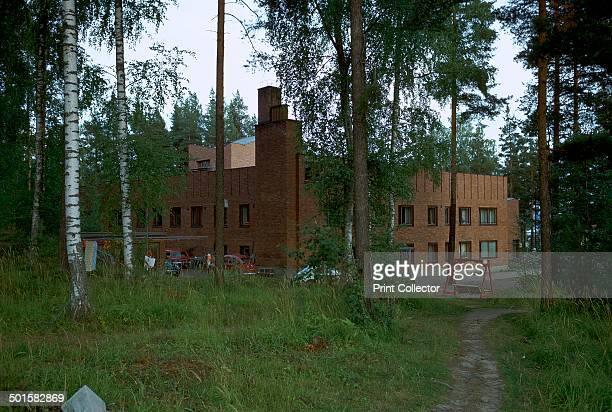 Saynatsalo Town Hall influenced by both Finnish vernacular culture and the Italian Renaissance 1940s