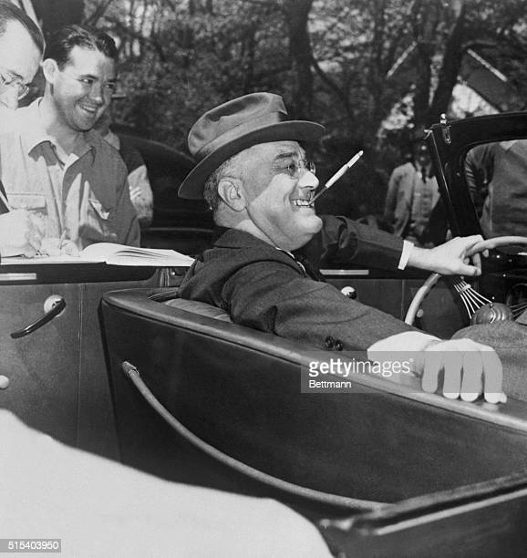 """Says narrator Henry Fonda of President Franklin D. Roosevelt, in """"F.D.R.: The Man Who Changed America"""": """"He was a star. You loved him for the way he..."""