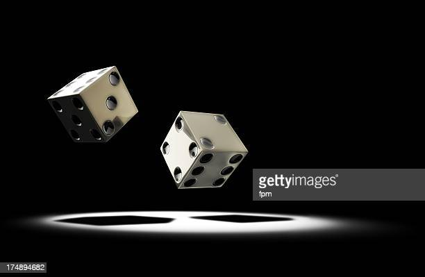 dice rolling - rolling stock pictures, royalty-free photos & images