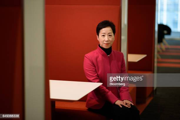 Sayuri Shirai professor at Keio University and visiting scholar at the Asian Development Bank Institute sits for a photograph following a Bloomberg...