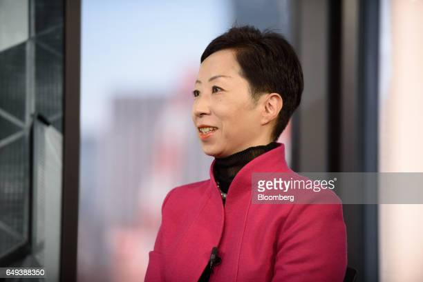 Sayuri Shirai professor at Keio University and visiting scholar at the Asian Development Bank Institute speaks during a Bloomberg Television...