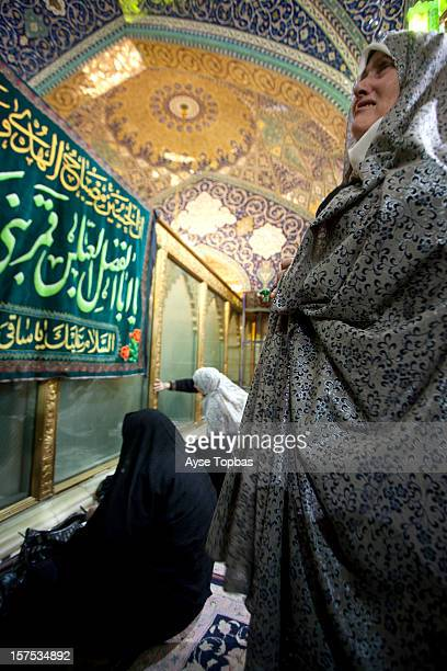 Sayyidah Ruqayya Mosque is a shrine located in Damascus Syria that contains the grave of Sukayna the infant daughter of Husayn ibn Ali