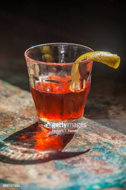 sazerac cocktail - new orleans stock pictures, royalty-free photos & images