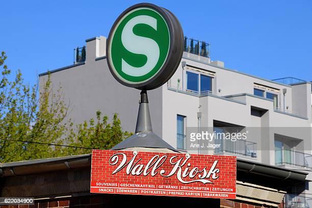 S-Bahn station sign in Berlin