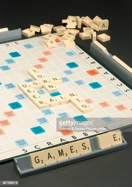 Scabble board game c 1990