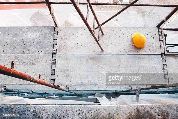 Baugerüst auf Baustelle