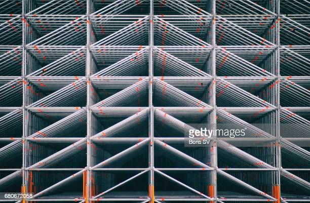 Scaffolding symmetry - multiple triangles