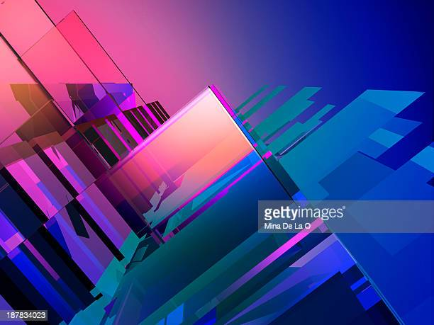 scal-03 - geometric design stock photos and pictures