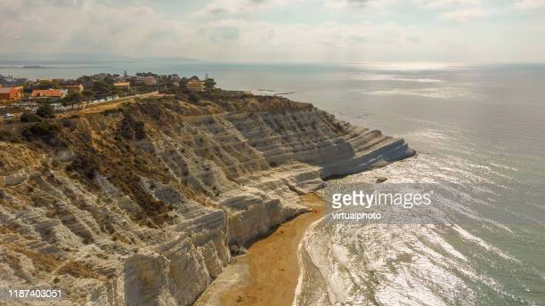 scala dei turchi - agrigento stock pictures, royalty-free photos & images